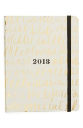 Nordstrom: Kate Spade 2018 Planner $15 + Free Shipping (Save 50%)