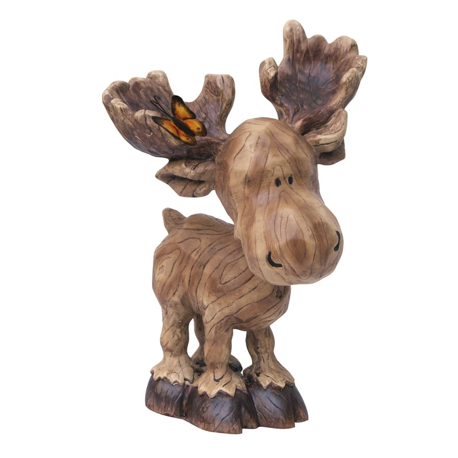 "Lowe's:  10"" Moose Garden Statue $3.50 + Free Store Pickup (And More!) YMMV"