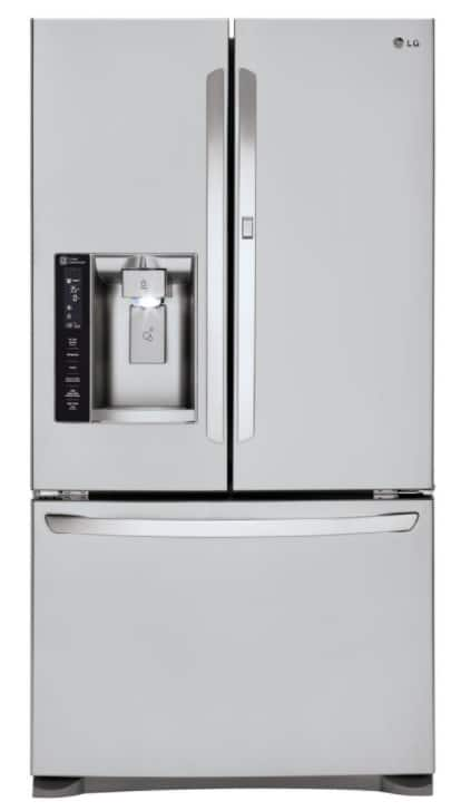 Home Depot: LG Electronics 26.6 cu. ft. French Door Refrigerator with Door-in-Door in Stainless Steel $1,438 + Free Shipping
