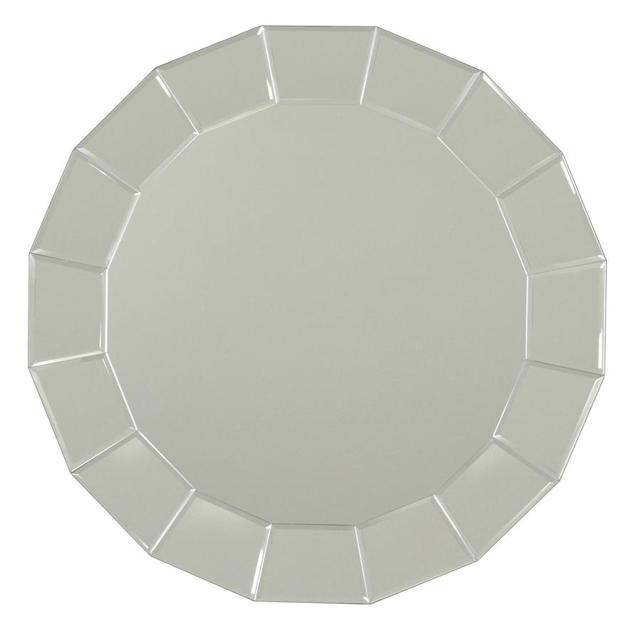 Lowe's: allen + roth Beveled Round Frameless Wall Mirror $53.99