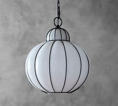 Pottery Barn: Camille Steel / Glass Pendant Light $49.59 + Free Shipping (Reg. $249)