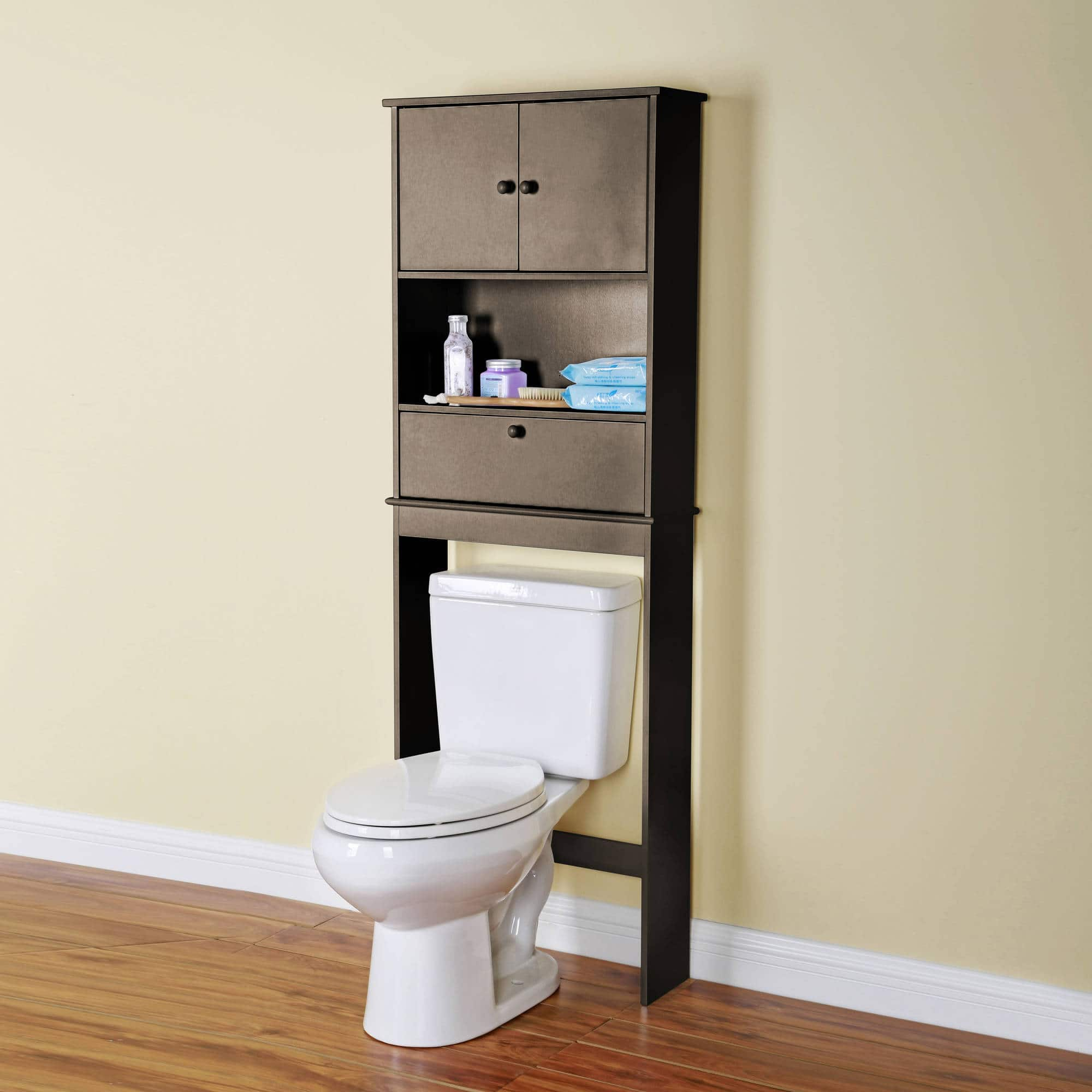 Surprising Walmart Mainstays Bathroom Space Saver Wood Cabinet Black Home Interior And Landscaping Staixmapetitesourisinfo