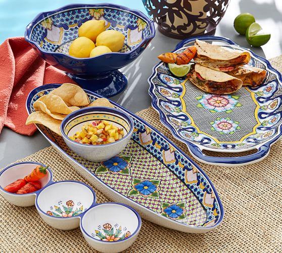 Pottery Barn: Del Sol Menaine Triple Condiment Serve $4 + Free Shipping (Reg. $15)