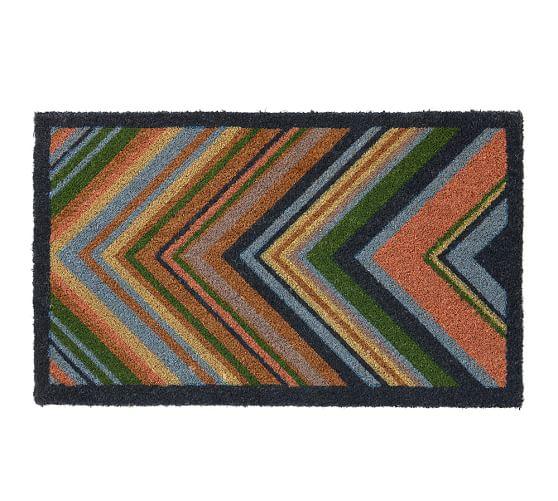 Pottery Barn: Tamara Chevron Doormat $7.99 + Free Shipping