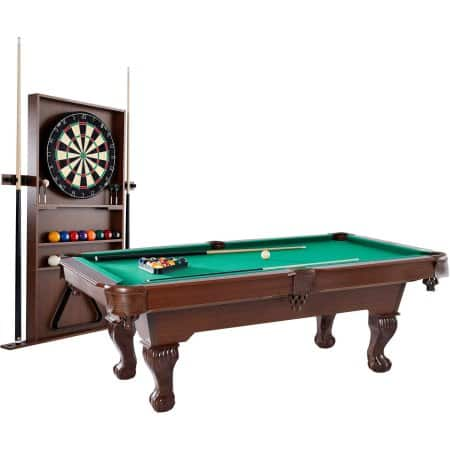 Barrington Ball Claw Pool Table W Cue Rack Dartboard - Dicks sporting goods pool table