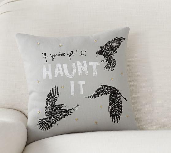 Pottery Barn: Halloween Haunt It Pillow $6.99 + Free Shipping