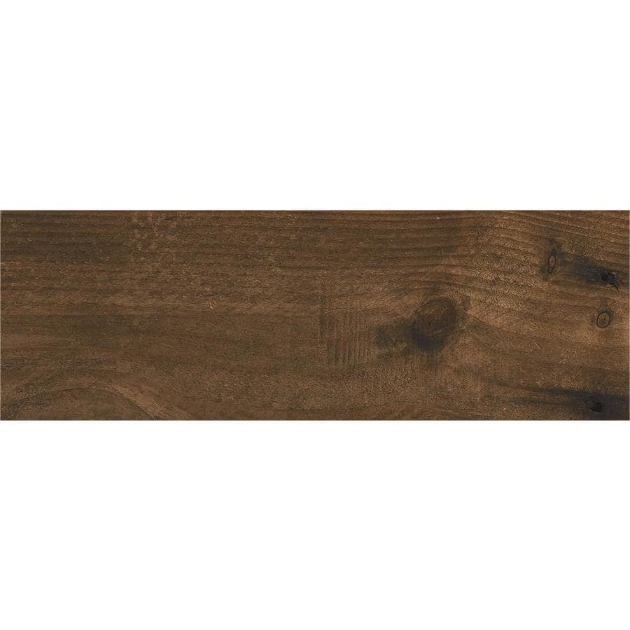 Lowe's: CERAMICAS TESANY Acadia Brown Wood Look Ceramic Floor And Wall Tile $0.99 / Sq. Ft.
