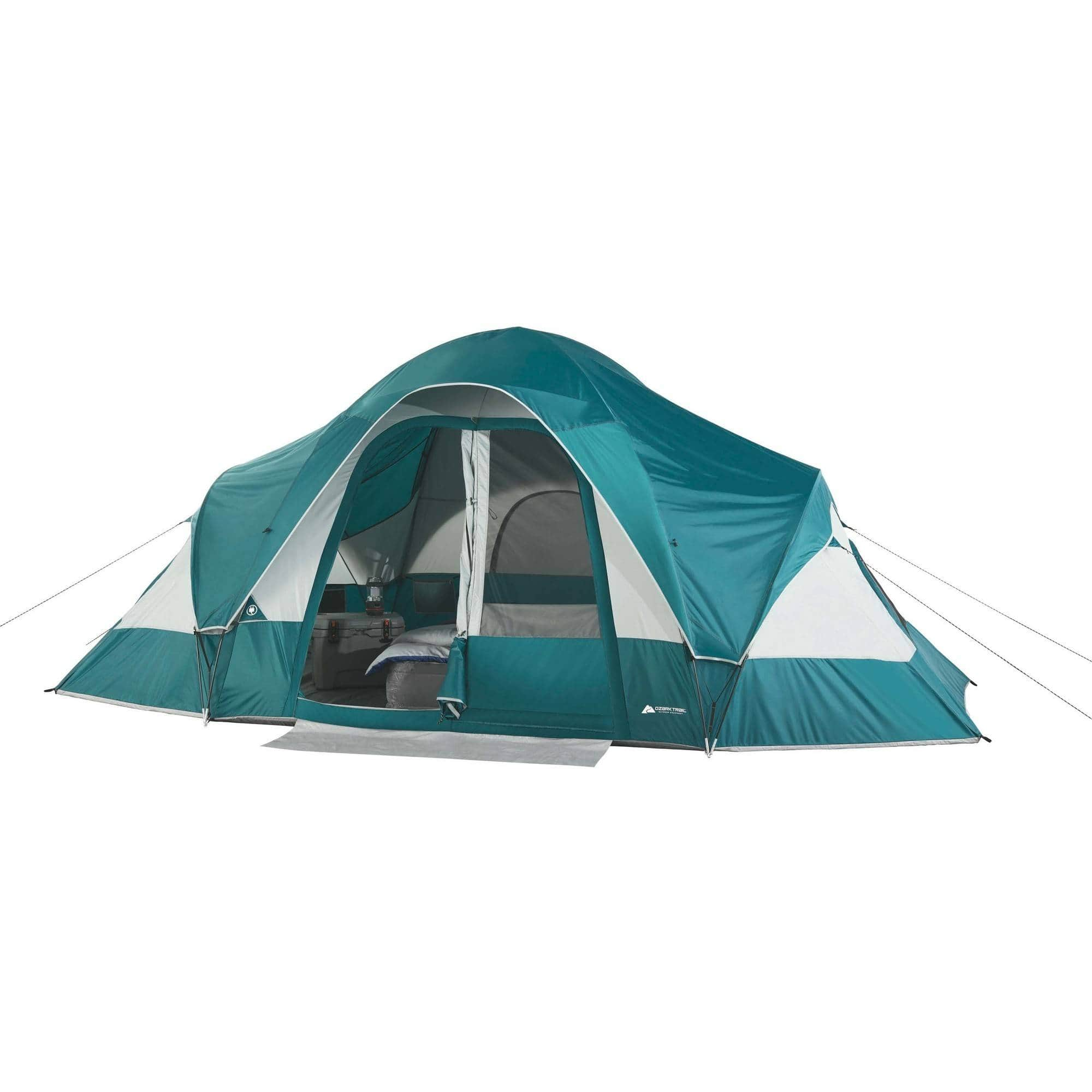 ozark trail 8 person family tent various colors slickdeals net