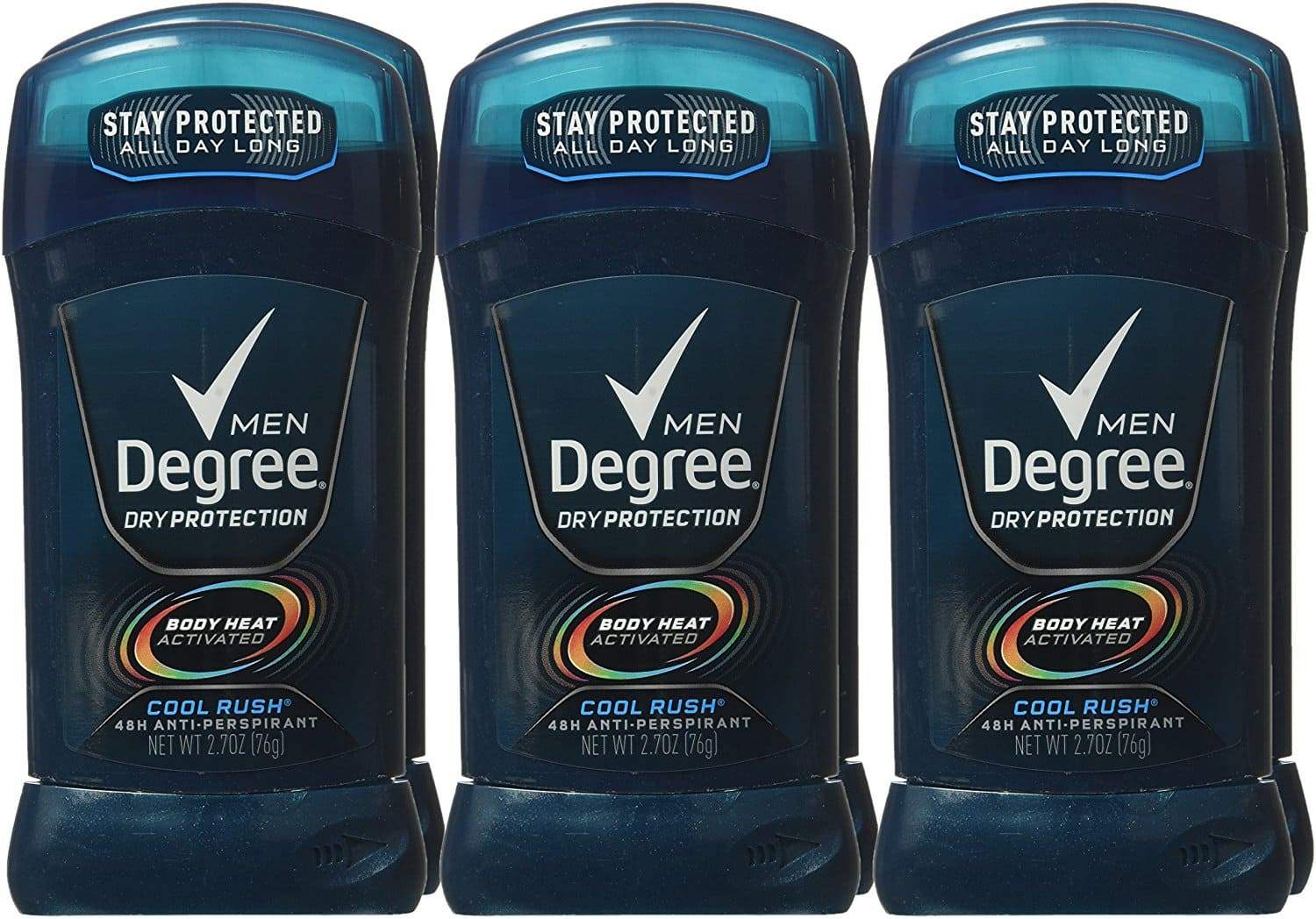 Amazon S&S: Degree Men Dry Protection 48 Hour Antiperspirant, Cool Rush 2.7 oz (Pack of 6) $9.10 + Free Shipping