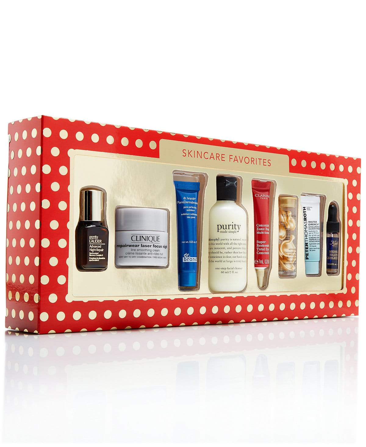 Macy's 8-Pc. Skincare Favorites Gift Set $19.99 + Free Shipping (Clinique / philosophy / Estee Lauder, More)