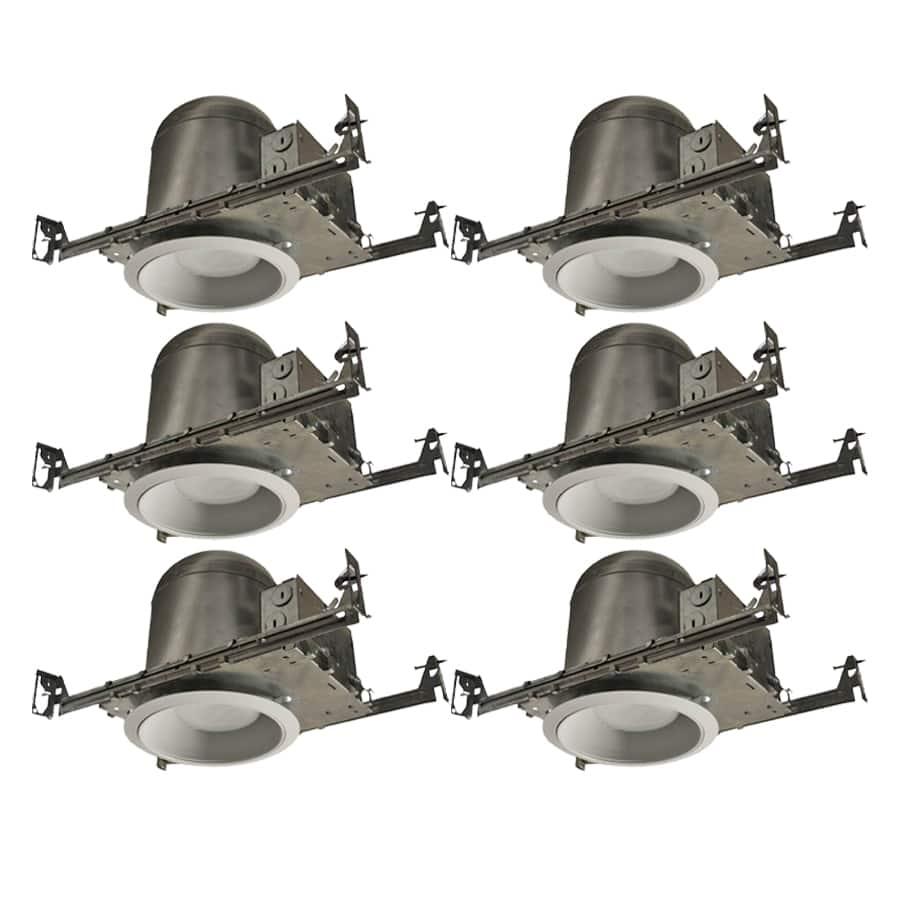 Lowe S Utilitech Aluminum Recessed Light Kit 6 Pack 16 80 Ymmv Save