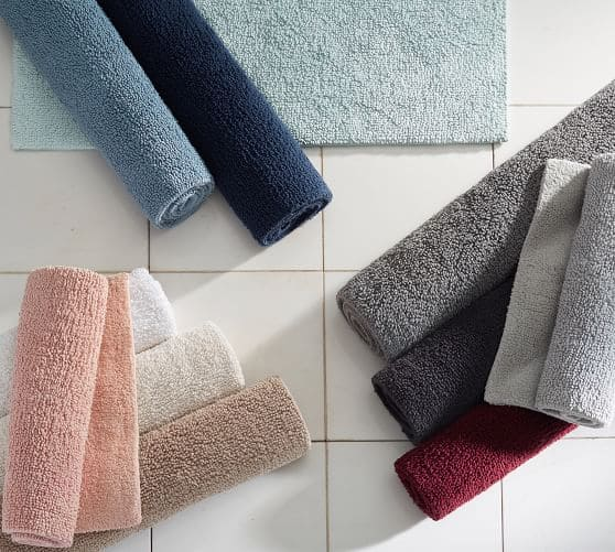 Pottery Barn Classic 100% Cotton Large Bath Rug (Rhubarb) $13.99 + Free Shipping (Reg. $38.50)