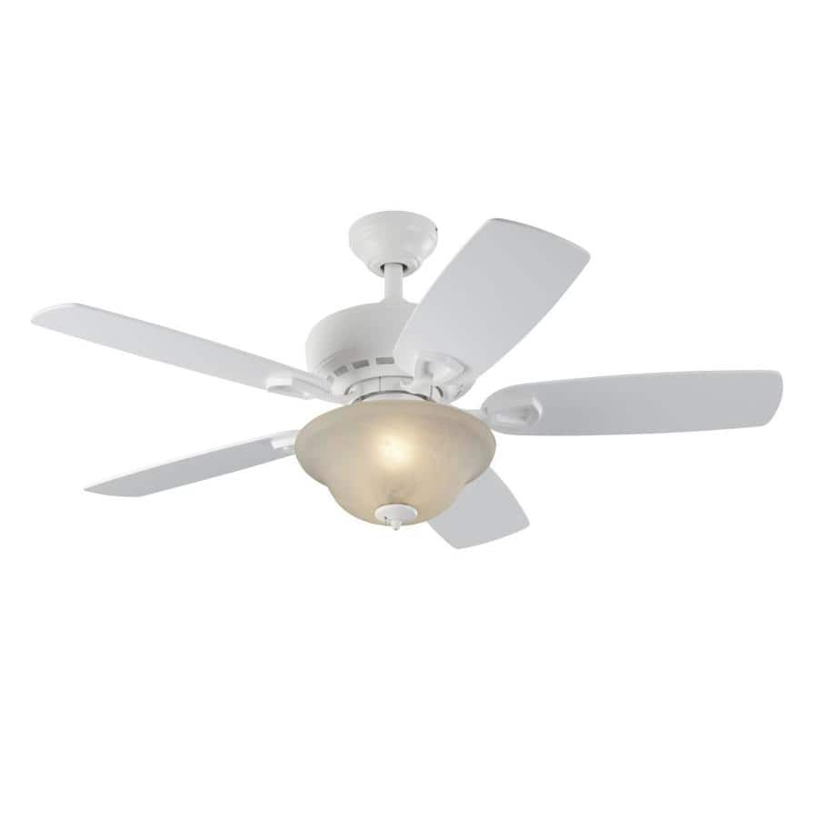 Lowes Ceiling Fans On Sale: Lowe's: Harbor Breeze Sage Cove 44-in White Indoor Ceiling