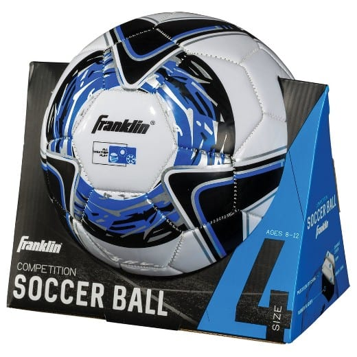 Target: Franklin All Weather Soccer Ball Comp (Blue Size 4) $2.98 B&M Only