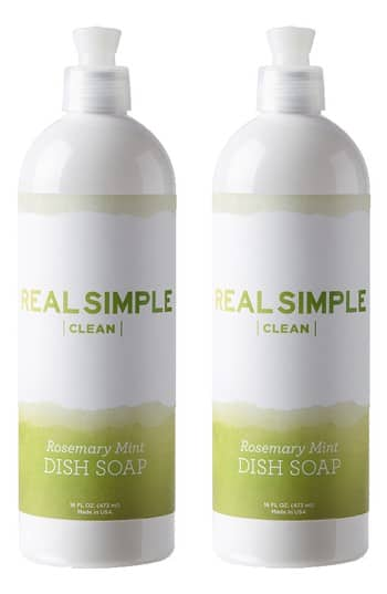 Nordstrom: Real Simple 2-Pack Dish Soap $8.40 + Free Shipping