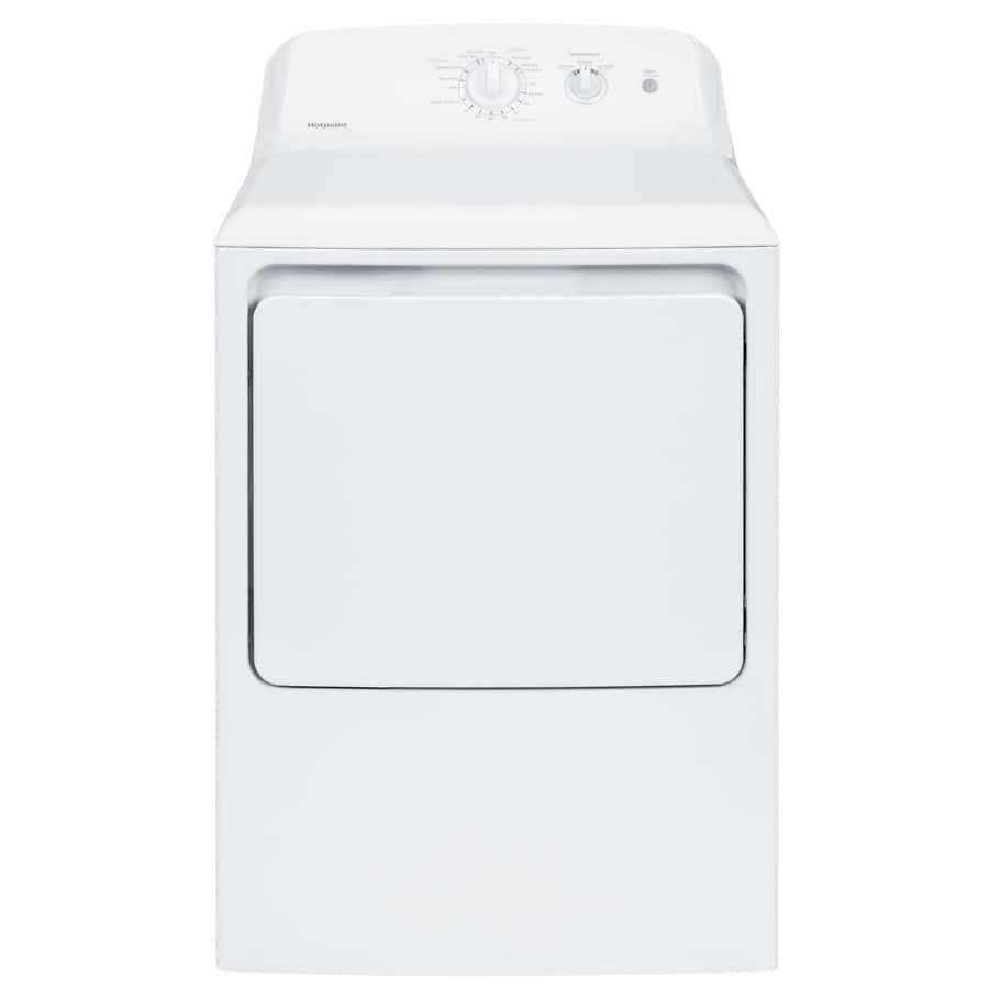 Lowe's: Hotpoint 6.2-cu ft Electric Dryer (White) $246