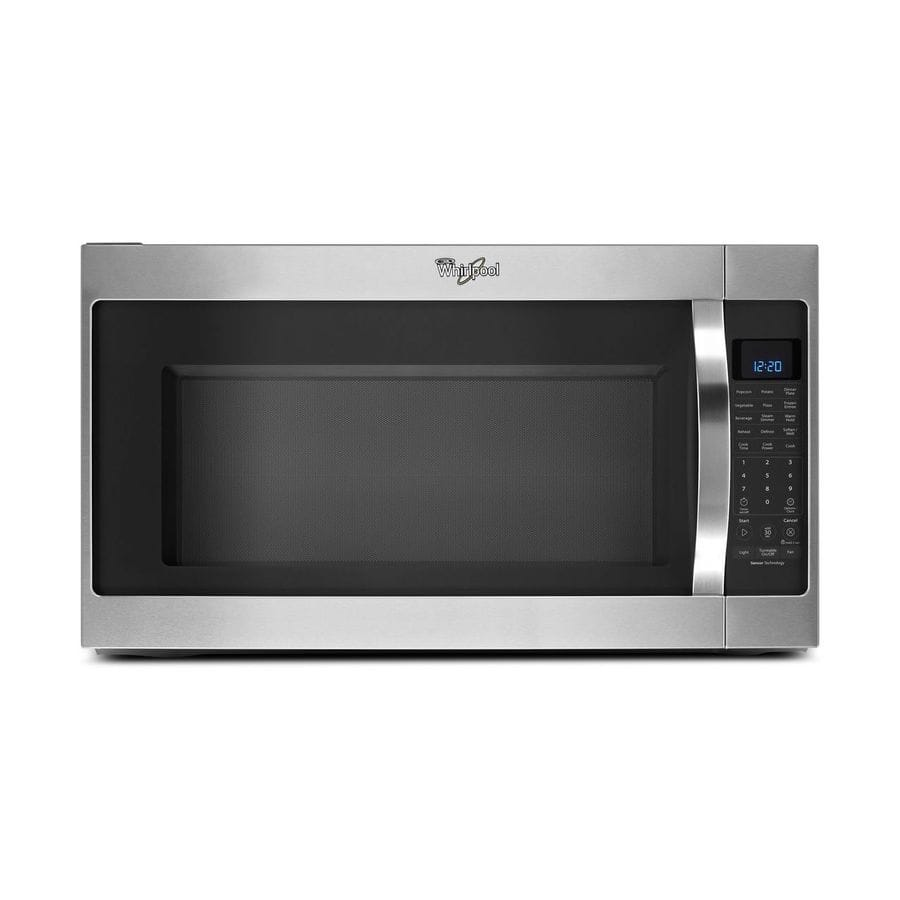 Lowe's: Whirlpool 2-cu ft Over-the-Range Microwave with Sensor Cooking Controls (Stainless Steel) WMH53520CS $159.50 YMMV