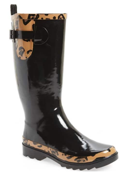 a6e2338b7 Nordstrom: Sakroots Women's Rainboots (Black/Leopard) $21.10 + Free Shipping  - Slickdeals.net