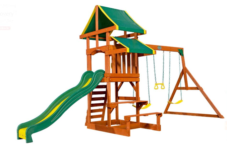 Backyard Discovery Tucson Cedar Wooden Swing Set Page 3