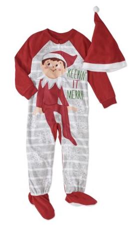 Walmart: Elf On The Shelf Toddler Boys' or Girls' Unisex Pajamas $2 (Reg. $15)