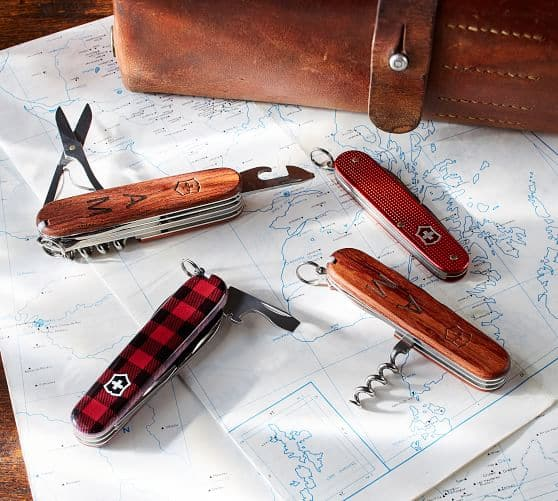 Swiss Army Knife - Red Metal $19.99 + Free Shipping