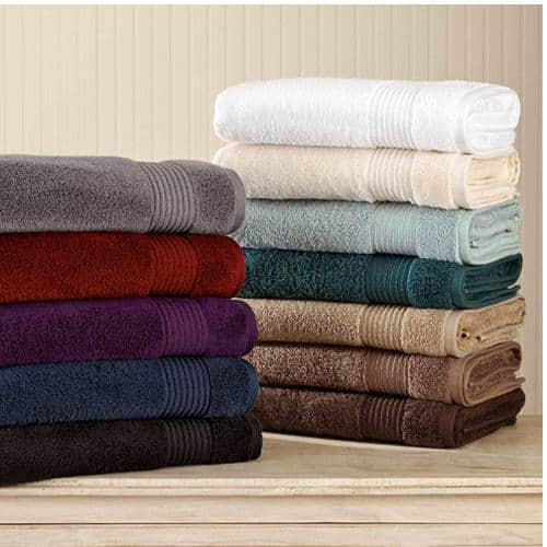 Walmart: Better Homes And Gardens Extra Absorbent 6 Piece Towel Set $13.19 (Reg. $26)