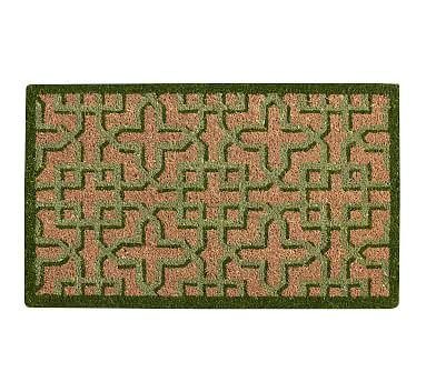 Pottery Barn: Shadow Trellis Doormat (Blue) $11 + Free Shipping