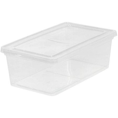 Walmart: IRIS 6 Qt. Plastic Storage Box (Clear) $1.88
