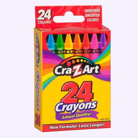 Walmart: Cra-Z-Art School Quality Crayons (24-Pack) x 2 = $0.50