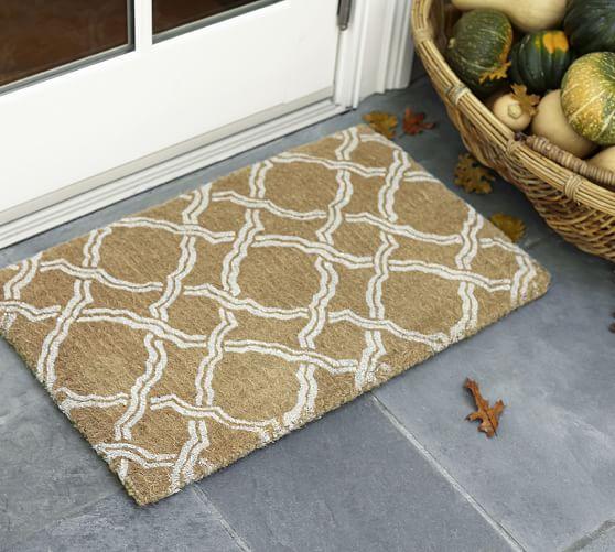 Pottery Barn: Kendra Trellis Doormat $10.99 + Free Shipping (Reg. $29)