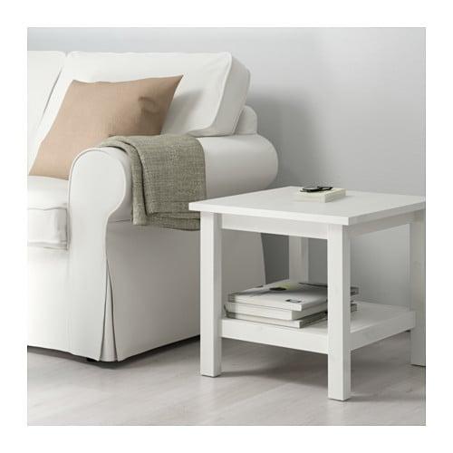 IKEA: HEMNES Solid Pine Side Table (White) $49 YMMV