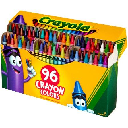 Walmart: Crayola 96 count Crayons with Built-in Sharpener $4.97