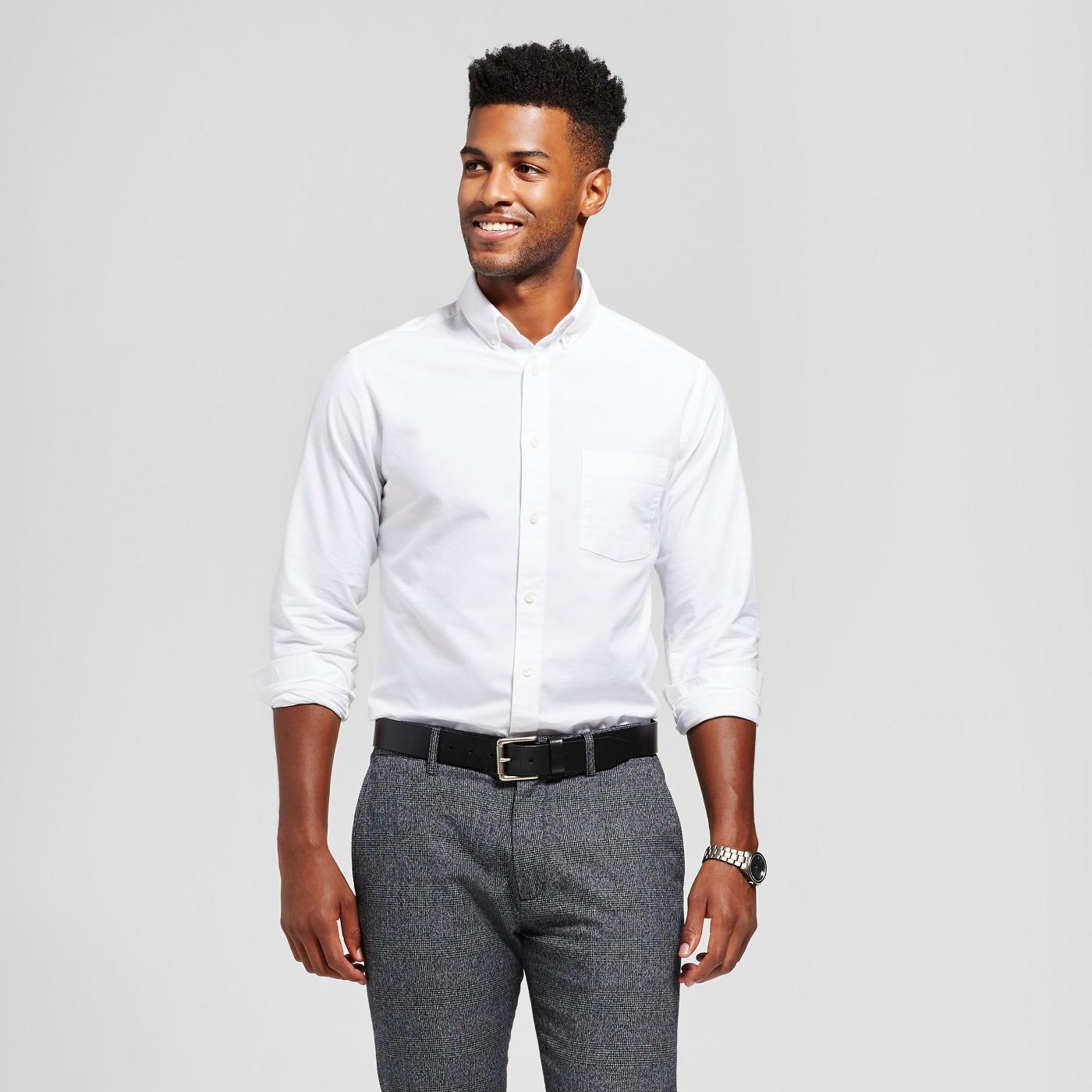 af2d4755485 Target: Goodfellow & Co. Men's Standard Fit 100% Cotton Button-Down Shirt  $12.49 (Save 50%)