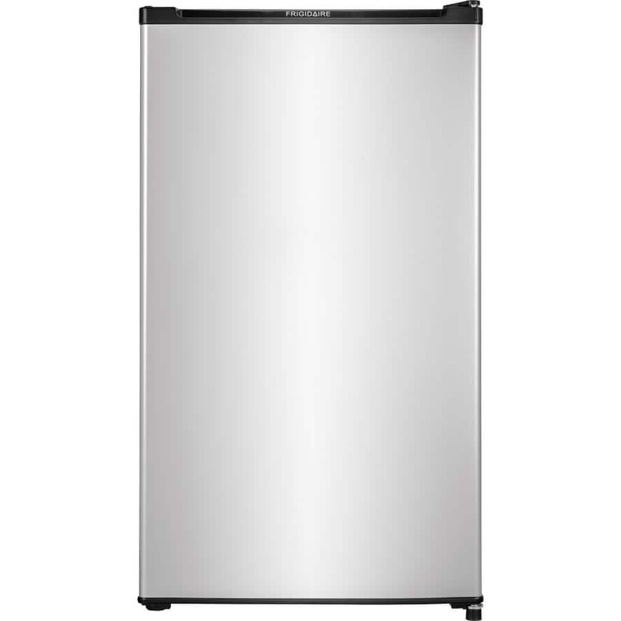 Lowe's: Frigidaire 3.3-cu ft Freestanding Compact Refrigerator (Silver) $99 + Free Shipping