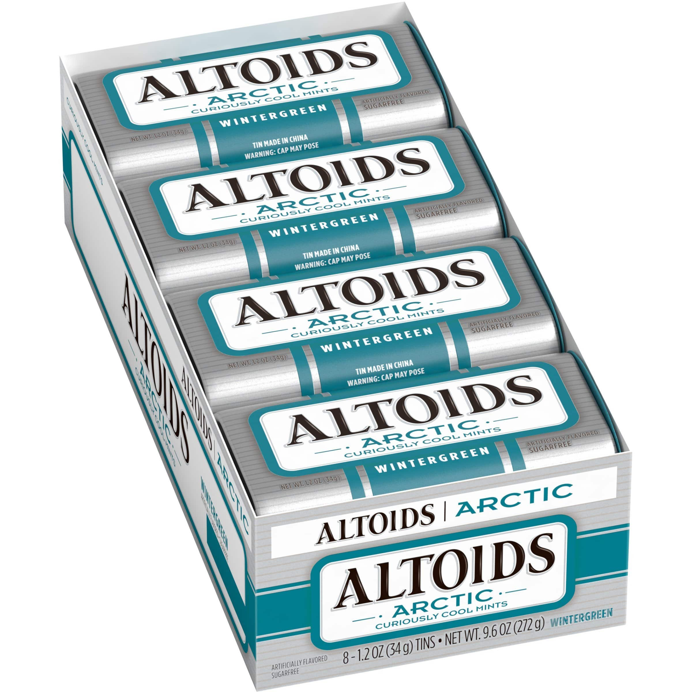 Amazon S&S: Altoids Arctic Peppermint Mints, 1.2 Ounce (8 packs) $7.36 or as low as $6.59 + Free Shipping