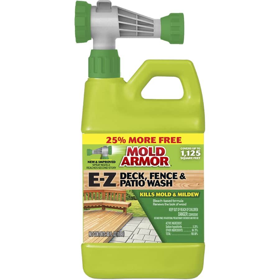 Lowe's: Home Armor 80-fl oz Deck Cleaner Kills Mold and Mildew $2.69 (Save 70%) YMMV