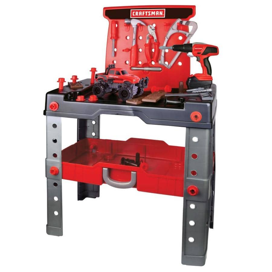 Lowe's: CRAFTSMAN Kid's Toy Workbench and Tool Set $9.99 (Save 75%) YMMV