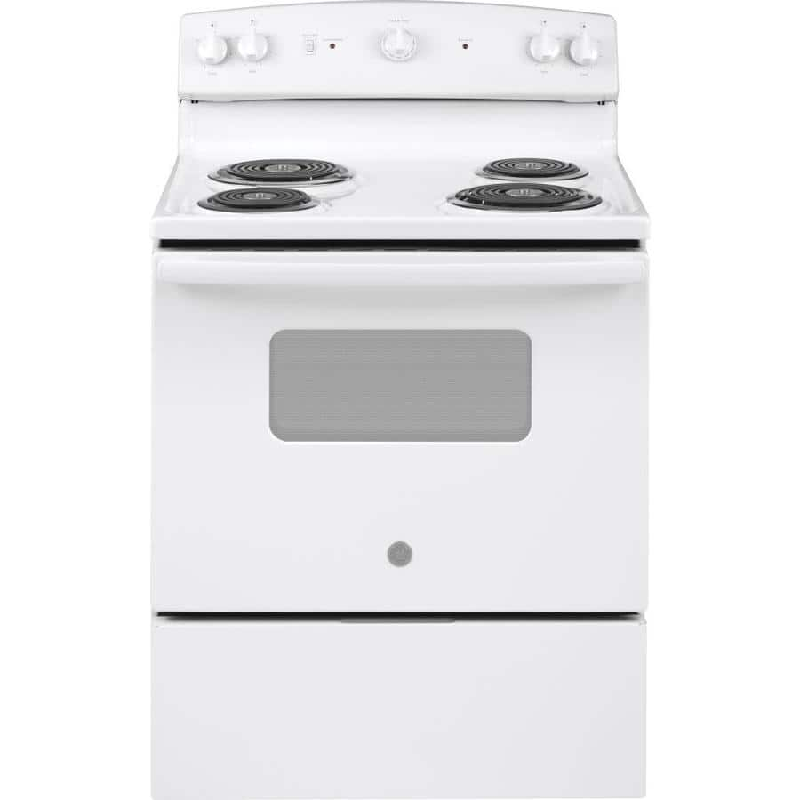 Lowe's: GE 5-cu ft Freestanding Electric Range (White) $379 + Free Shipping