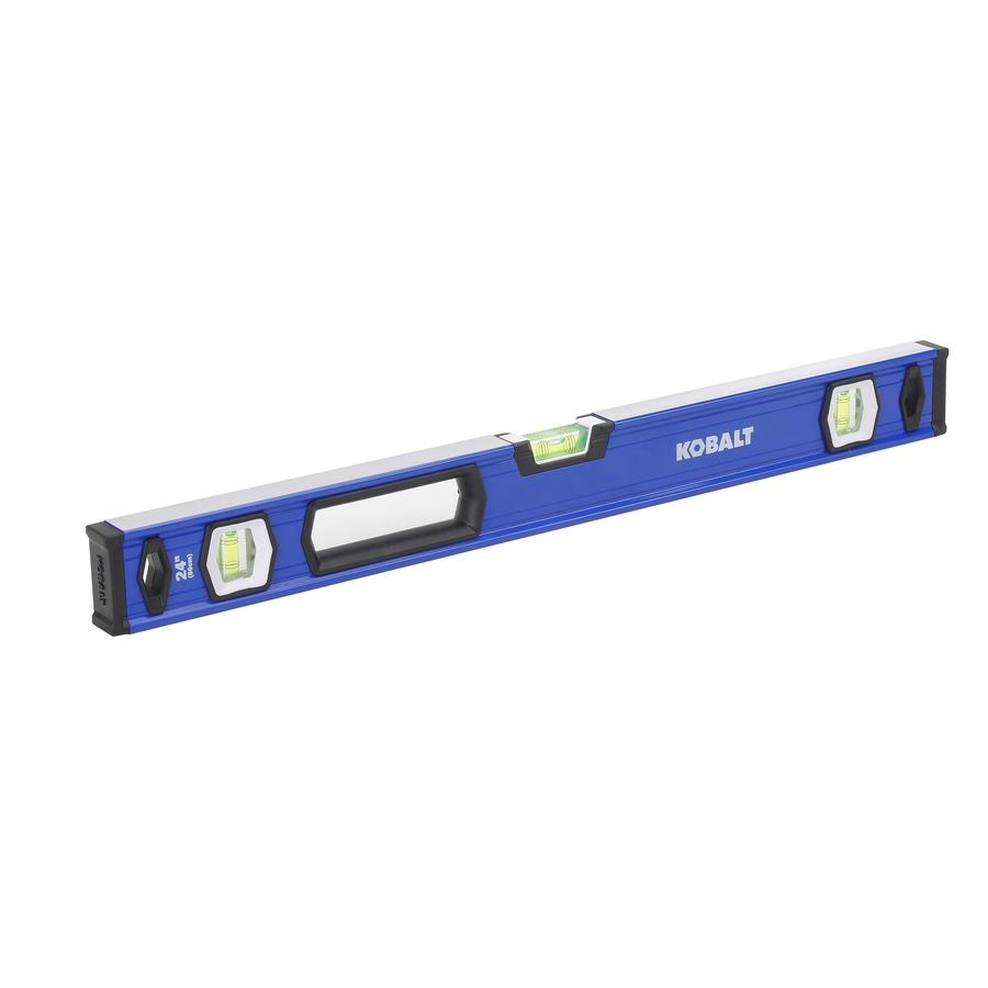 Lowe's: Kobalt 24-in Box Beam Level Standard Level $9 99