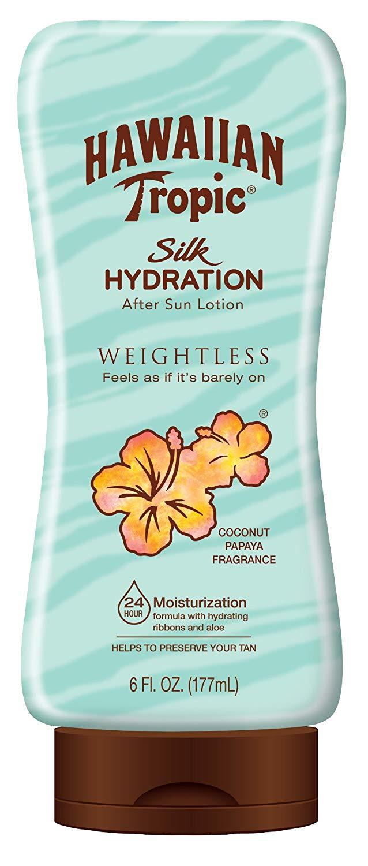 Amazon S&S: Hawaiian Tropic Silk Hydration Weightless After Sun Gel Lotion (6 oz.) $2.11 + Free Shipping