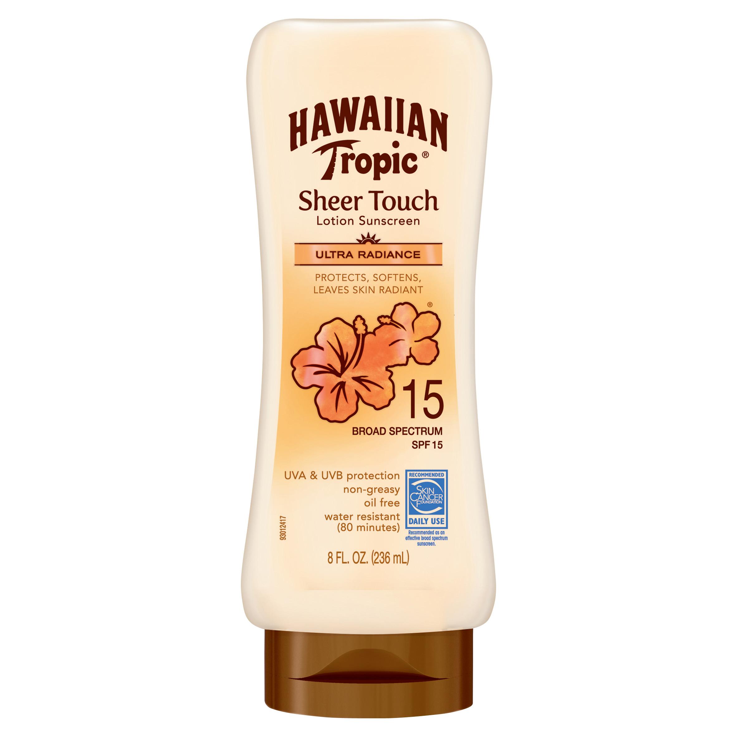 Amazon S&S: Hawaiian Tropic Sheer Touch Lotion Sunscreen SPF 15, 8 Ounces $2.83 + Free Shipping