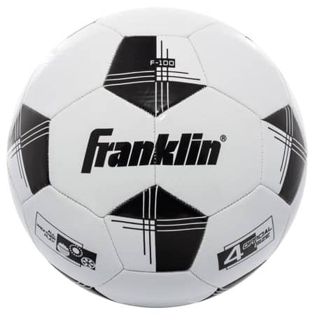 Walmart: Franklin Sports Competition 100 Soccer Ball, Size 4 $3.90