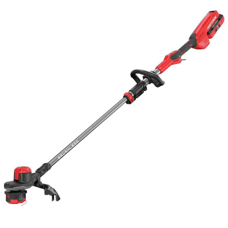 Lowe's: CRAFTSMAN V60 60-volt Max 15-in Straight Cordless String Trimmer (Battery Included) $147.19 (Now <$100)