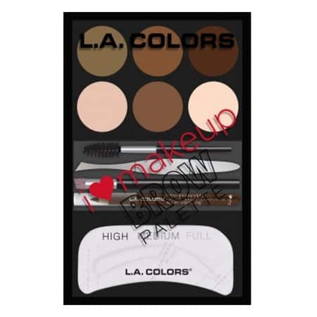 Walmart: L.A. Colors I Heart Makeup Brow Palette (12 Pieces) $1.80