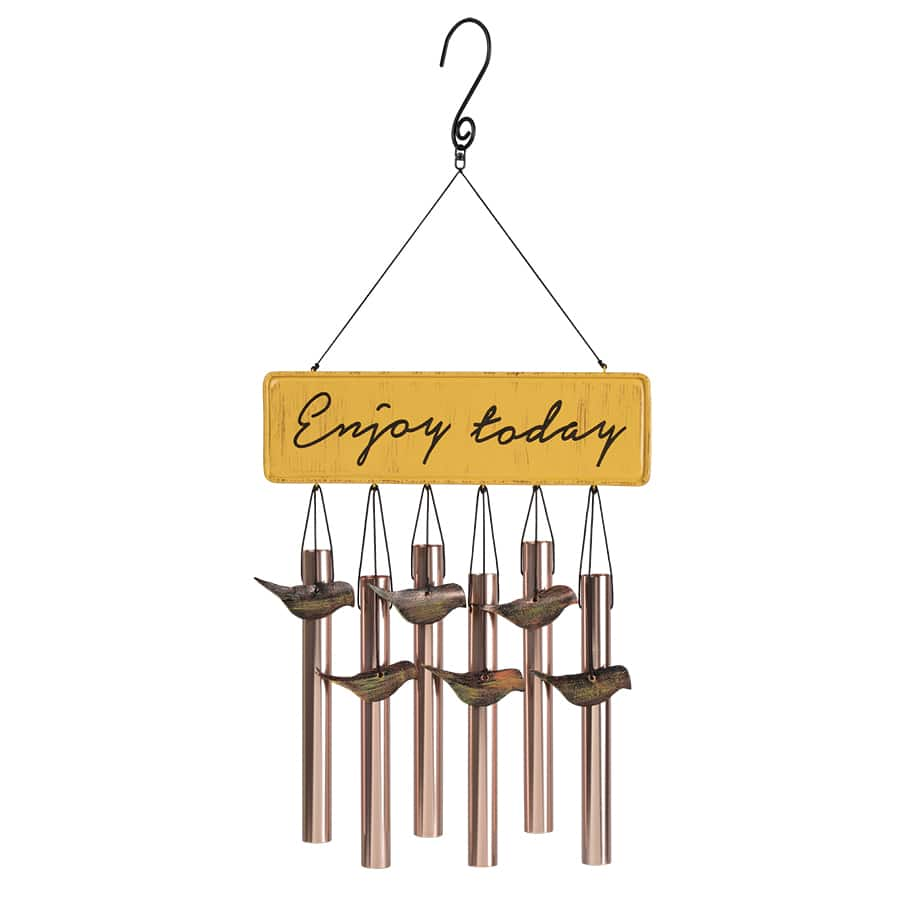 Lowe's: Garden Treasures 17-in Multi-Color Metal Wind Chime $2.62 (Save 75%) YMMV
