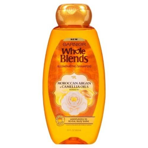 Amazon S&S: Garnier Whole Blends Shampoo with Moroccan Argan & Camellia Oils Extracts, 22 fl. oz $1.87 + Free S/H
