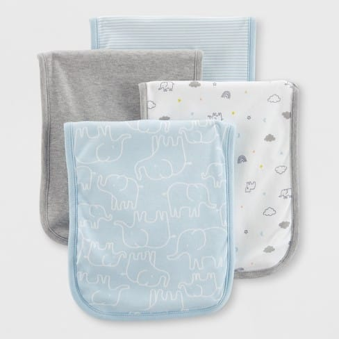 Target: Made By Carter's 4-Pack Baby Burp Cloths $2.09 (Save 70%)