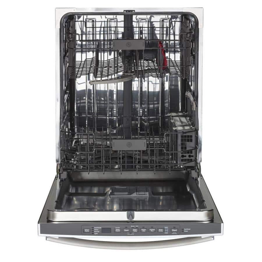 Lowe's: GE 46-Decibel and Hard Food Disposer Built-In Dishwasher (Stainless Steel) $499 + Free Shipping