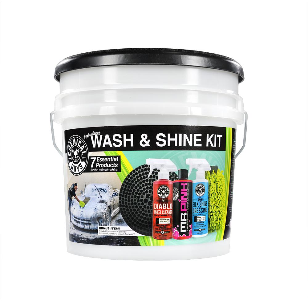 7-Piece Chemical Guys Wash & Shine Car Care Kit $40 + Free Shipping