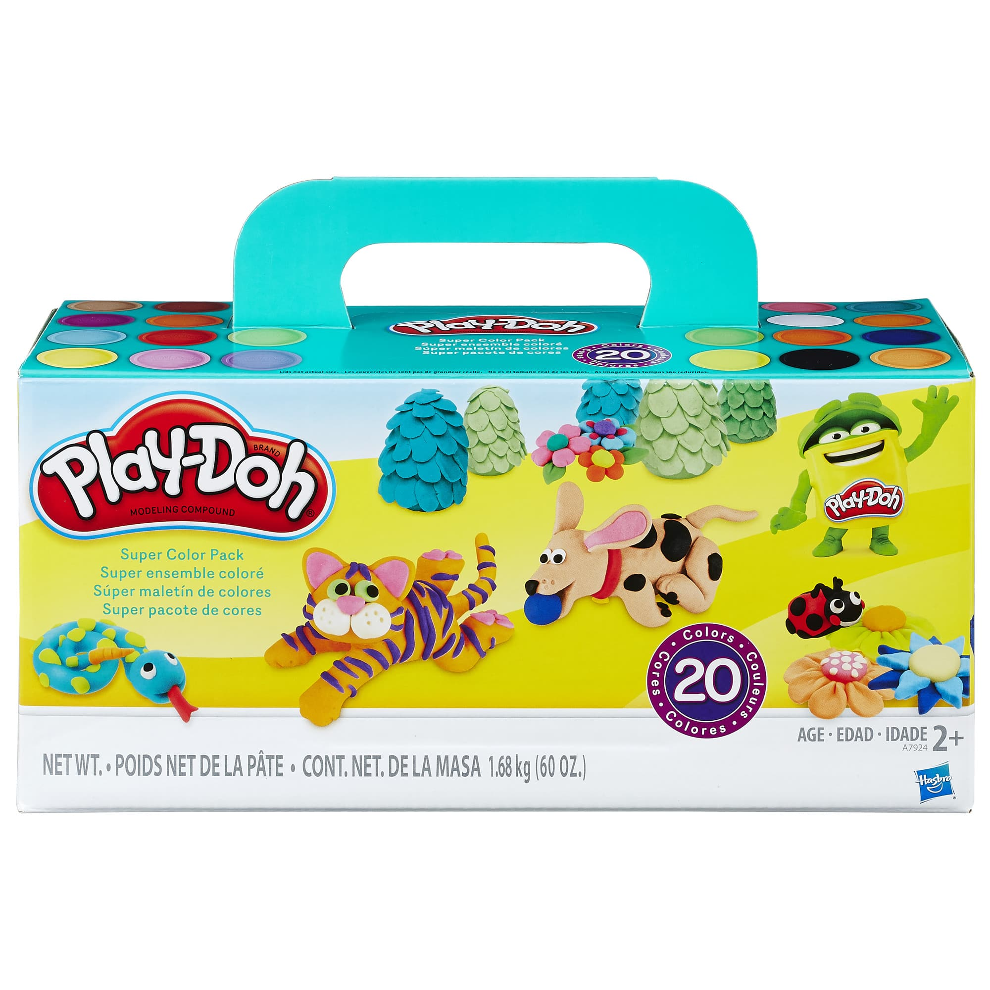 Play-Doh Super Color Pack (20 Cans) $12 + Free Shipping